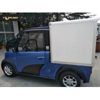 Quality Cargo Carrier light duty electric van 2 Passenger with Reverse Sensor High Speed wholesale