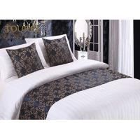 China Woven Fashion Design King Size Bed Runner / Cotton Quilted Bed Runner on sale