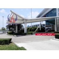 Quality Light Weight Membrane Sail / Tensile Shade Structures For Main Building Overhang wholesale