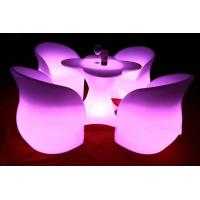 Quality 2014 led glowing chair rechargeable led light bar chair wholesale