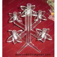Quality CH (32) twisted Acrylic candle holder wholesale