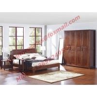 Quality Modern Chinese Style Design Solid Wood Bedroom Furniture Sets wholesale