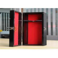 Quality Personalized Environment Friendly Luxury Wood Jewelry Display Boxes With Lock wholesale