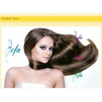 Quality Grade 6A Doulbe drawn Top Bouncy Curl Hair plastic hair curlers waves wholesale