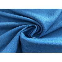 Buy cheap Blue Twill Fade Resistant Outdoor Fabric Good Color Fastness Breathable For from wholesalers