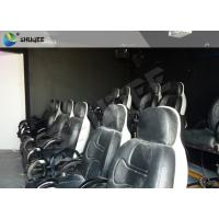 Quality Electric System 5D Movie Theater With Motion Ride Special Effect Bubble / Rain / Snow wholesale