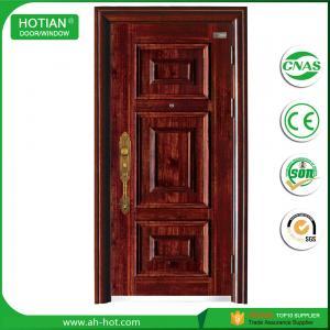 China Steel Security Door Popular for Front Main Entrance Door on sale