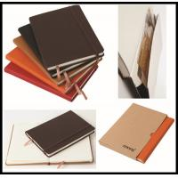 China hot sale leather cover Cheap Custom Notebook/school exercise books/diary on sale