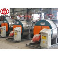 China 1.0 / 1.25Mpa Pressure Natural Gas Steam Boiler High Efficiency Steam Boiler on sale
