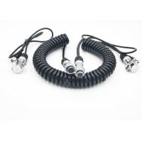 Quality Flexible Coiled Power Cord Trailer CCTV Camera Cable For Electronics wholesale