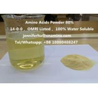 Quality Compound Amino Acids Powder 80% 70% 60% 52% 50% 45% 40% Organic Fertilizer, 14-0-0, OMRI Listed wholesale