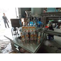 Cheap 350ML Automatic Packaging Machine Liquid And Paste Stand Pouch Packing Machine for sale