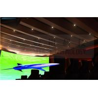 Quality Flat screen 4D movie theater , curved screen , special effect wholesale