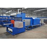 China High Speed PU Sandwich Panel Production Line , Polyurethane Sandwich Panel Line on sale