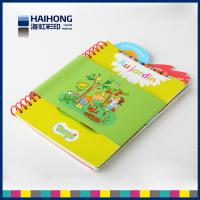 Eco - friendly coil bound book printing / spiral notebook printing spot UV , Embossed & depossed