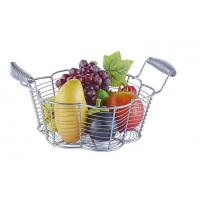 Quality Food Grade Metal Mesh Wire Fruit Basket Stainless Steel Material For Home Storage wholesale