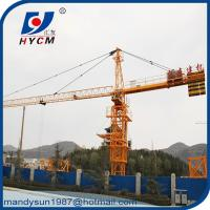 Quality QTZ6515 Topkit Tower Crane 10 ton 65m Jib Construction Crane with Remote Control wholesale