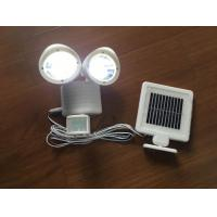 Quality PIR Passive Infrared Solar Powered LED Flood Lights For Garden / Park wholesale