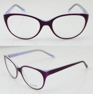 Quality Lightweight Oval Acetate Eyeglasses Frames wholesale