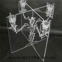 Quality CH (21) home display acrylic candle stand wholesale
