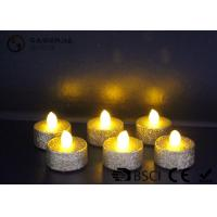 Quality Indoor / Outdoor Led Tea Light Candles With Dusted  Long Operating Life set of 6 wholesale