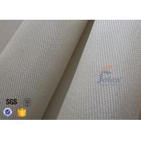 Quality 17.7oz 600gsm 1000℃ Fiberglass High Silica Fabric For Fire Welding Blanket wholesale