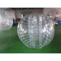 Quality 0.8mm PVC Inflatable Bumper Ball Conforms With CE For Sport Games wholesale