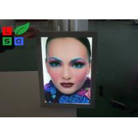 Quality Poster Size A0 A1 LED Outdoor Light Box Uniform Lighting With Lockable Swing Frame wholesale