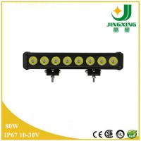 Quality Waterproof IP67 CREE Chip 80w LED Light Bar Off Road Made In China wholesale