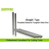 China Straight Solid Tungsten Carbide Rod Screw Hole For Cutter Head on sale