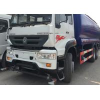 China High Pressure Water Tank Truck With Pneumatic Control / Manual Control System on sale
