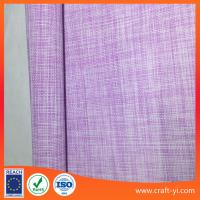 Quality Easy clean pink with white 2X2 weave soft Textilene fabric China manufactory wholesale
