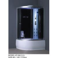 Quality Medium Jets Complete Shower Enclosures 3 sided Waste drain / Syphon included wholesale