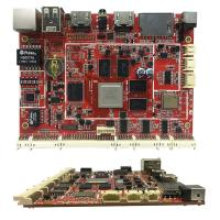 Quality 1.6mm PCB Assembly Services Red PCB Board For Industrial Motherboard wholesale