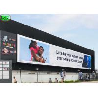 China P10 High Resolution Advertising Full Color LED Screens IP65 Waterproof on sale