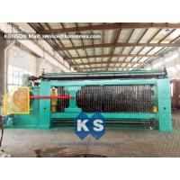 Quality Smooth Running Gabion Box Machine Turbine Protection System Producing Rate >3.8 M / Min wholesale