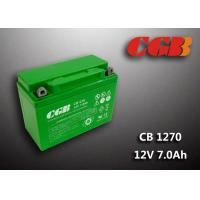 Quality Rechargeable Lead Acid Battery CB1270MC 12V7Ah Backup UPS Motorcycle Application wholesale