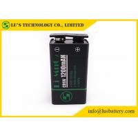 China LiMnO2 Battery 1200mah 9V battery For Smoke Detectors on sale