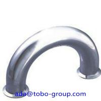 Quality Butt Welding Pipe Fittings Carbon Steel Elbow 180 Elbow For Petroleum , Chemical wholesale