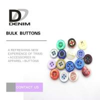 Quality Round Natural Imitation White Shell Buttons For Women