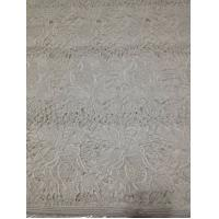 "Quality White Chemical Soft Guipure Lace (Cord Lace) Fabric Cotton Embroidered With 51"" / 52"" wholesale"
