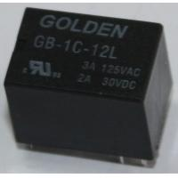Quality Golden 3A 12V Signal Relay GB HM4100F Low Power Relay Custom Made wholesale