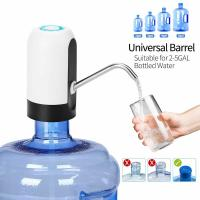 China Electric Bottled Water Pump Automatic Portable Fit 2-5 Gallon Bottle USB Charging on sale