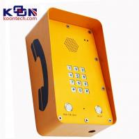 Quality GSM SOS Emergency Phone With 12 Groups Numbers Memory For Highway Call Box,Intercom System wholesale