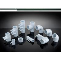 Quality PVC Plumbing Parts Plastic Water Distribution Manifold , Tee , Elbow For Connecting wholesale
