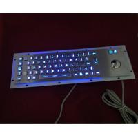 Quality vandal resistance metal keyboard with led button wholesale