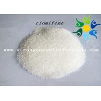 Quality Clomiphene Citrate Anti Estrogen Steroids , Injectable / Oral Anabolic Steroids For Adults wholesale