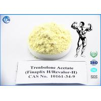 Quality Yellow Raw Powder Steroids 10161 34 9 Trenbolone Acetate For Bodybuilding wholesale