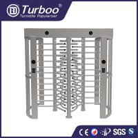 Quality Amusement Parks High Security Turnstile Gate With Fingerprint Scanner wholesale