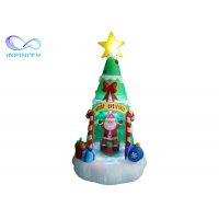 Quality 7Ft Led Light Up Inflatable Christmas Tree Gift Wrapped wholesale